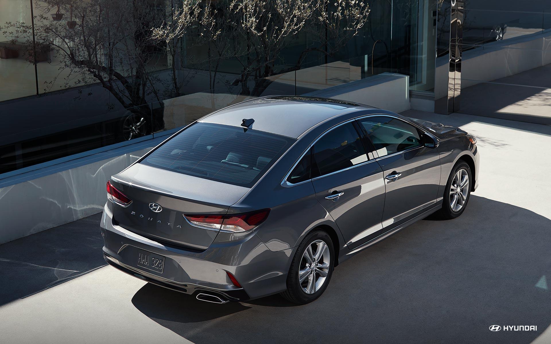التصميم الجانبي للسيارة هيونداي سوناتا 2018   المرسال