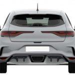 التصميم الخلفي للسيارة رينو ميجان RS 2018 - 513613