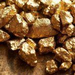 ادلة على وجود الذهب في الصخور بالصور