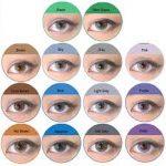 اين تتم صناعة عدسات بيلا bella color lenses