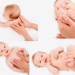 أهمية تدليك جسم الأطفال الرضع