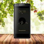 شاهد جوال سامسونج بشاشتين Samsung Leadership 8
