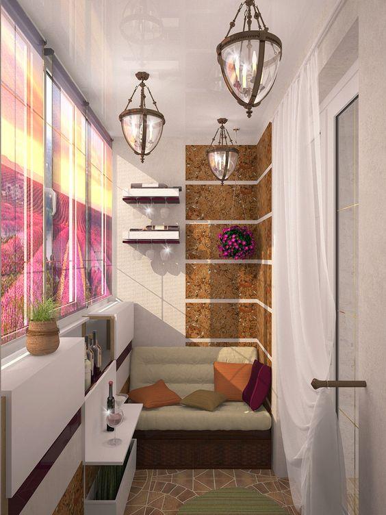 شرفة صغيرة