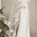 فستان زفاف ذات تصميم بسيط - 516635
