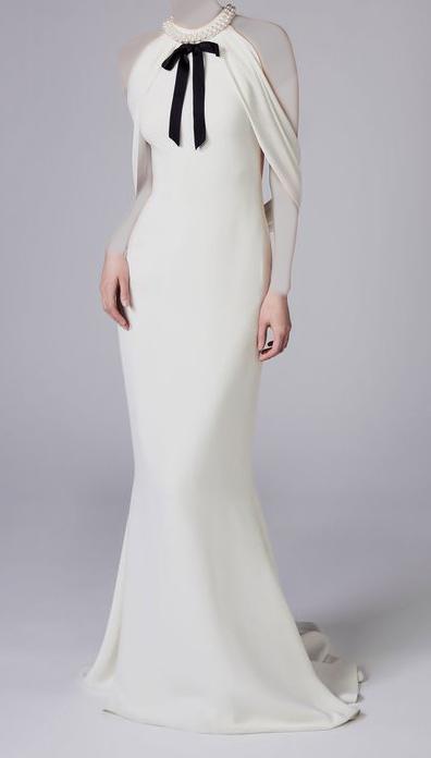 245f887ea فستان طويل و ضيق   المرسال