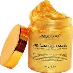 ماسك الاثرياء الكولاجين بالذهب عيار 24 للبشرة