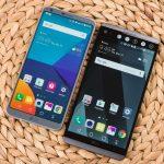 مقارنة بين جوالات ال جي LG V30 VS LG V20