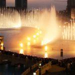 كم تكلفة انشاء النافورة الراقصة في دبي