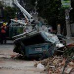 آثار ونتائج زلزال المكسيك المدمر