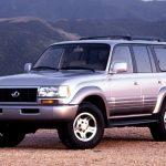 صور لكزس LX 1995 الموديل الاول