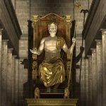 """"""" تمثال زيوس """" أشهر عجائب الدنيا السبع القديمة"""