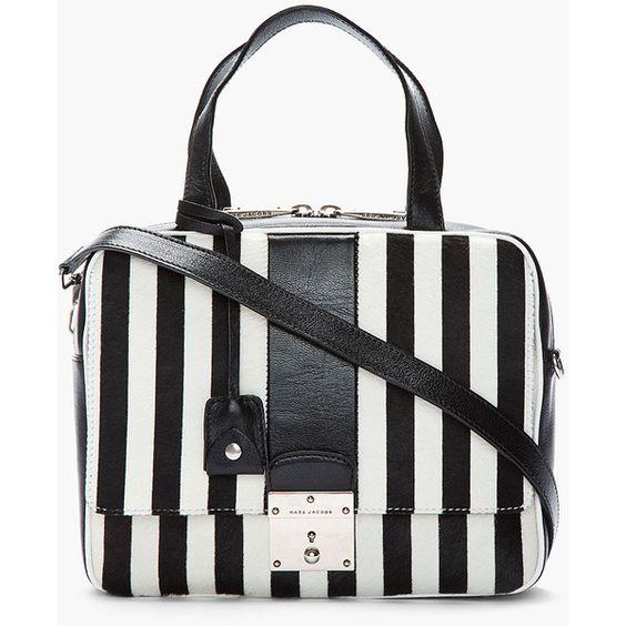 94cf056eed521 حقيبة باللون الأبيض و الأسود