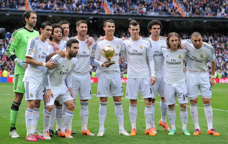 قائمه اسماء لاعبين ريال مدريد