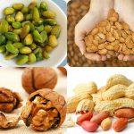 فوائد المكسرات في إنقاص الوزن