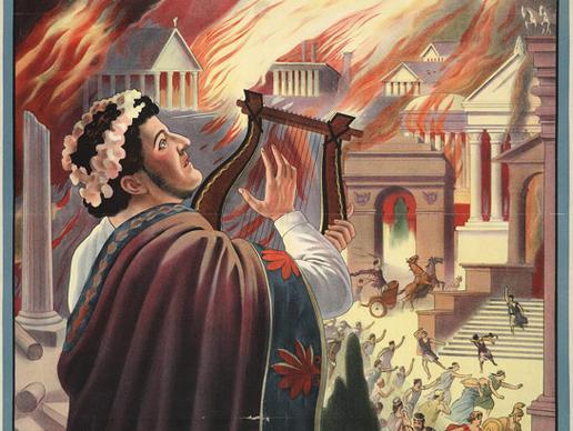 نيرون و حريق روما