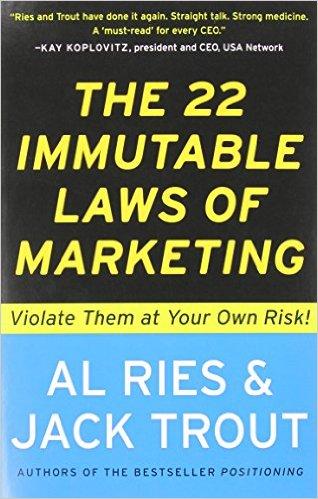كتاب 22 قانون ثابت فى التسويق