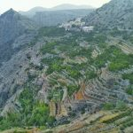 الأهمية السياحية للجبل الأخضر بسلطنة عمان