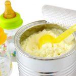 تركيبات الحليب الصناعي المختلفة وأشكاله