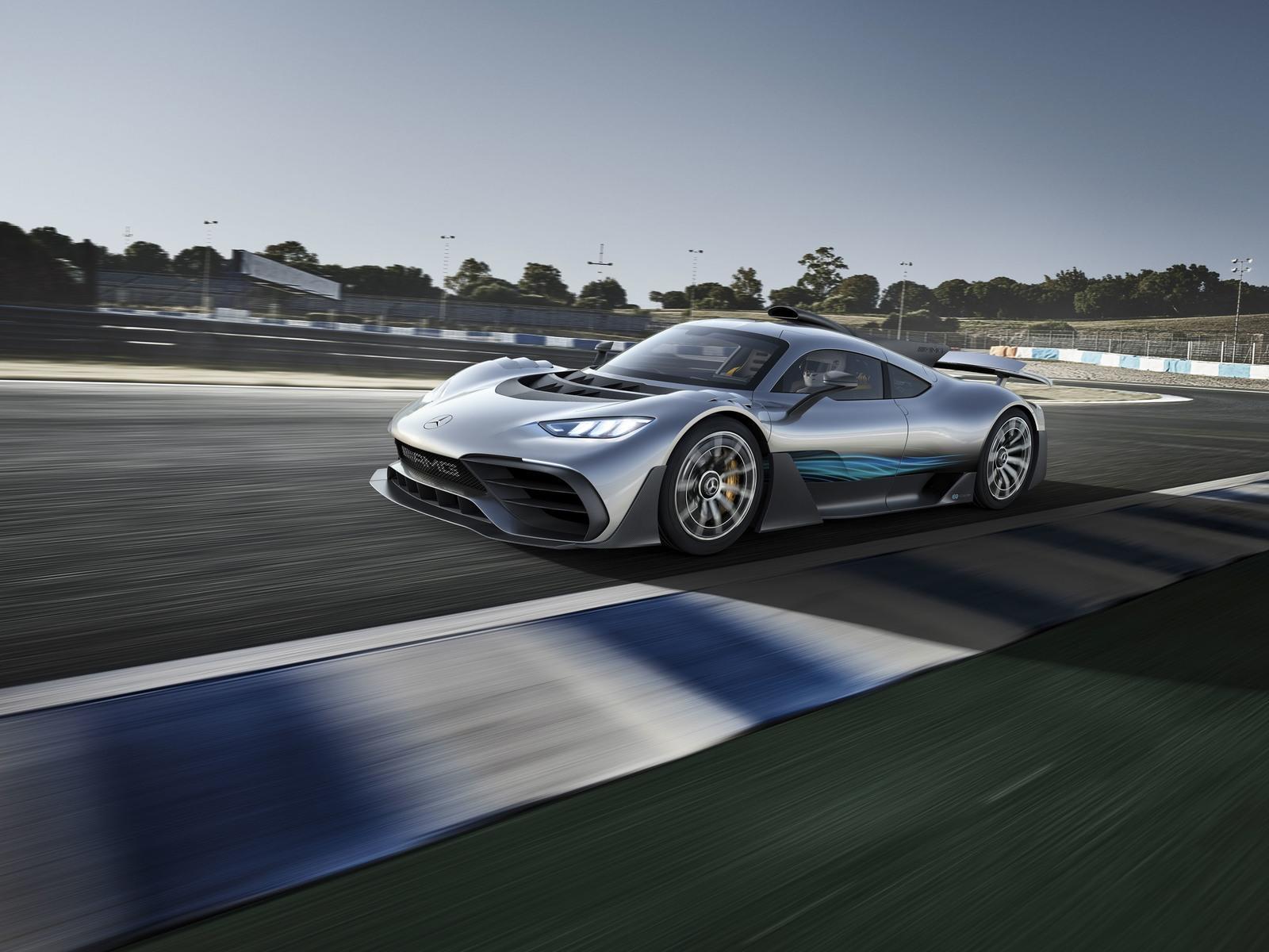 مواصفات محرك مرسيدس Mercedes Project
