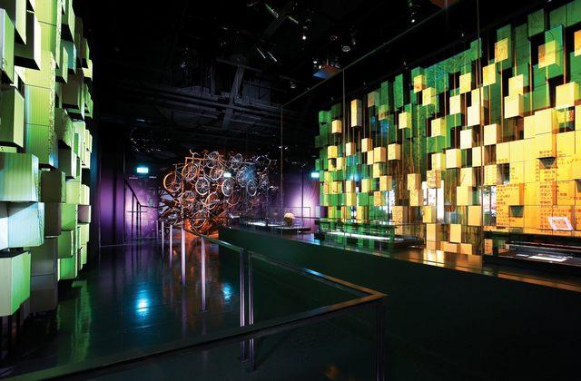 معالم السياحة في سنغافورة ويعتبر اقدم متحف في سنغافورة حيث