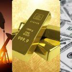 الذهب وعلاقته بالنفط والدولار الامريكي