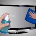 طرق تنظيف شاشات التلفاز المسطحة
