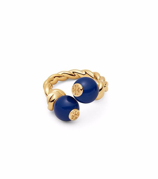 خاتم بفص أزرق