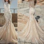 موديلات فساتين زفاف راقية من dany mizrachi لعام 2018