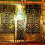 احداث وفاة النبي و تفاصيل دفنه