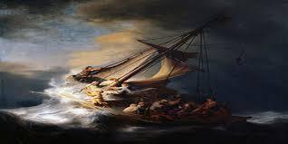 التاريخ لوحة-العاصفة-على-بحي
