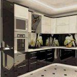 مطابخ ألوميتال سوداء - 545812