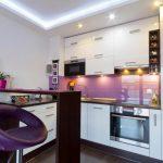 مطبخ ألوميتال أبيض - 545836