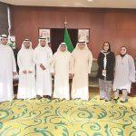 الكويت تبحث إمكانية دعم الكوادر الوطنية وتكويت القضاء