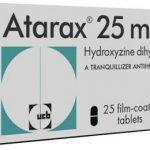 دواعي استعمال دواء أتاراكس Atarax