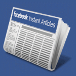 خدمة المقالات الفورية الجديدة من الفيس بوك
