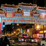 """الحي الصيني """" chinatown """" في مانهاتن بنيويورك"""