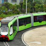 معلومات عن القطار الذكي في الصين