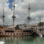 الميناء القديم في مدينة جنوة الايطالية - 554760