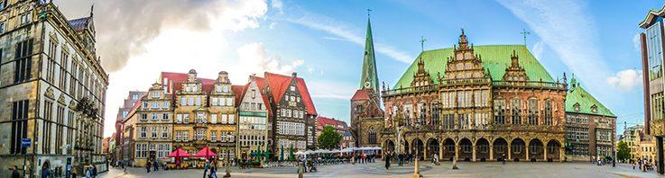 مدينة بريمن الألمانية