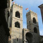 جدران العصور الوسطى في جنوة الايطالية - 554761