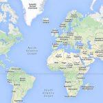 اول من رسم خريطة العالم