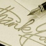 طريقة كتابة خطاب شكر رسمي