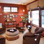 غرف جلوس بنظام فينج شوي مفعمة بالطاقة الإيجابية