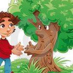 """قصة عن الوفاء """" قصة شجرة التفاح """""""