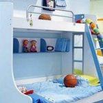 غرف نوم اطفال بسريرين للمساحات الصغيرة