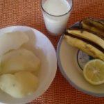 فوائد قشر الموز المجفف للبشرة