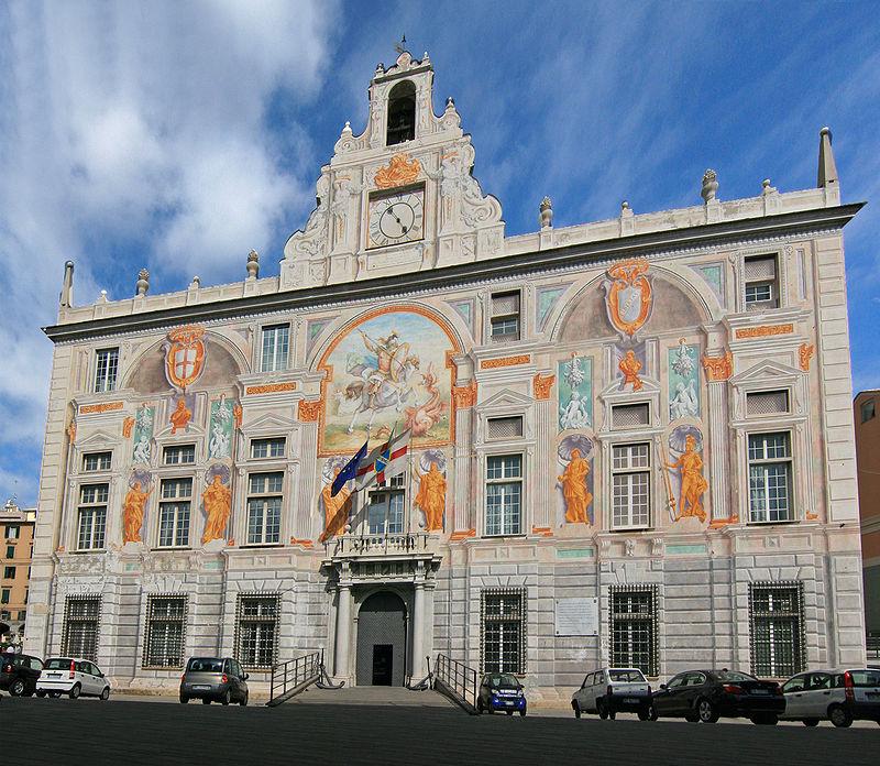 قصر القديس جورج في جنوة الايطالية