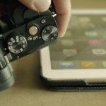 طريقة نقل الصور من الكاميرا الى الايفون
