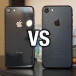 الفرق بين ايفون 7 وايفون 8