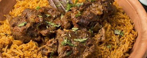 طريقة طبخ لحم الحاشي بالكاتم مكونات-عمل-